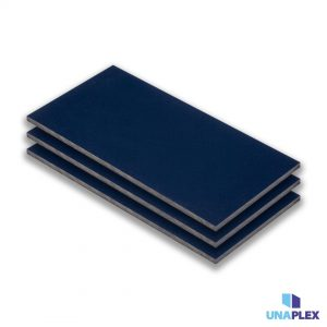hpl plaat - hpl blauw - (ral 5011) - (1300x3050x6mm)