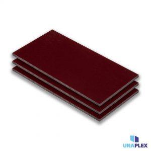 hpl plaat - hpl rood - (ral 3005) - (1300x3050x6mm)