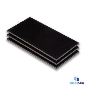 hpl plaat - hpl zwart - (ral 9005) - (1300x3050x6mm)