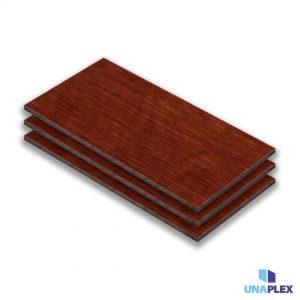 hpl plaat - hpl houtkleur-rood - (hout rood) - (1030x3050x6mm)