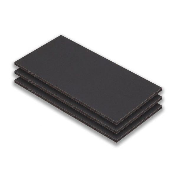 hpl plaat - hpl aluminium - (ral 9006) - (1300x3050x6mm)
