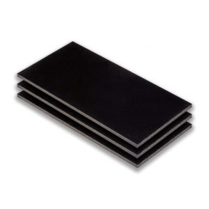 hpl plaat - hpl zwartgrijs - (ral 7021) - (1300x3050x6mm)